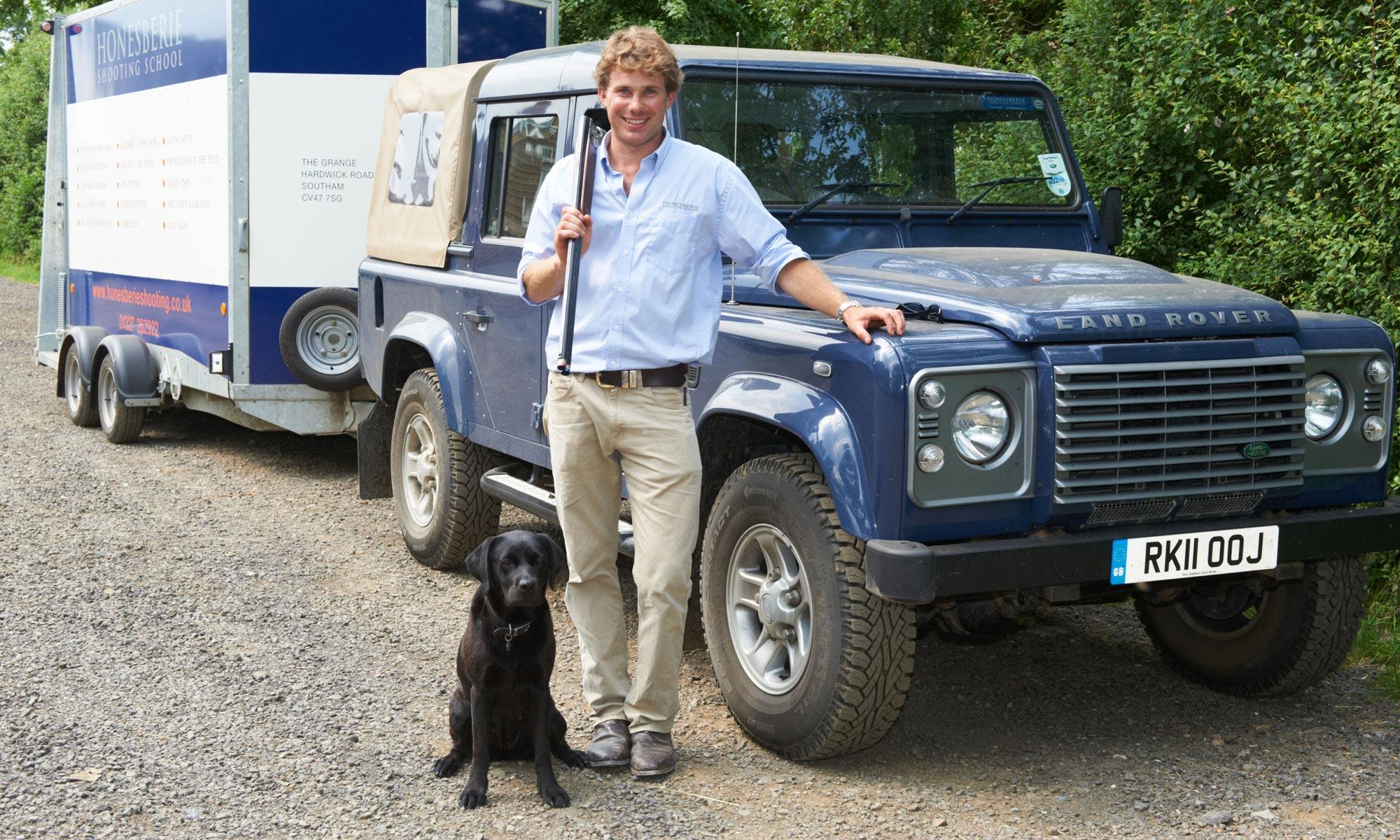 Nick & dog