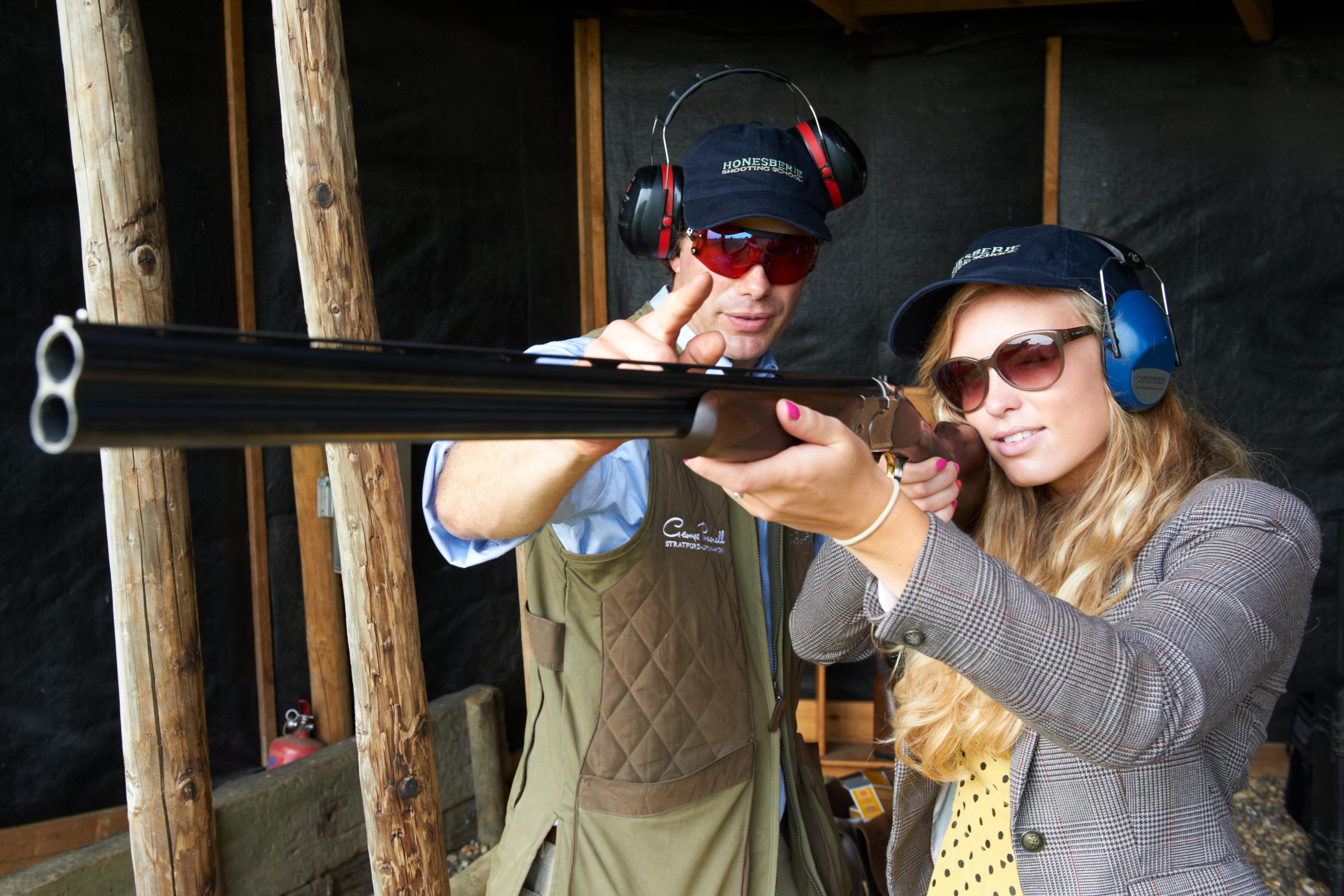 Lady With Shotgun