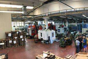 Rizzini Factory Visit - Factory Floor
